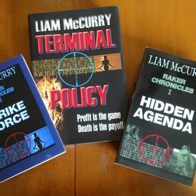 Terminal Policy hardback purchase provides two softback books