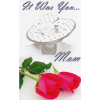 MelG Post Card 3 - It Was You, Mom