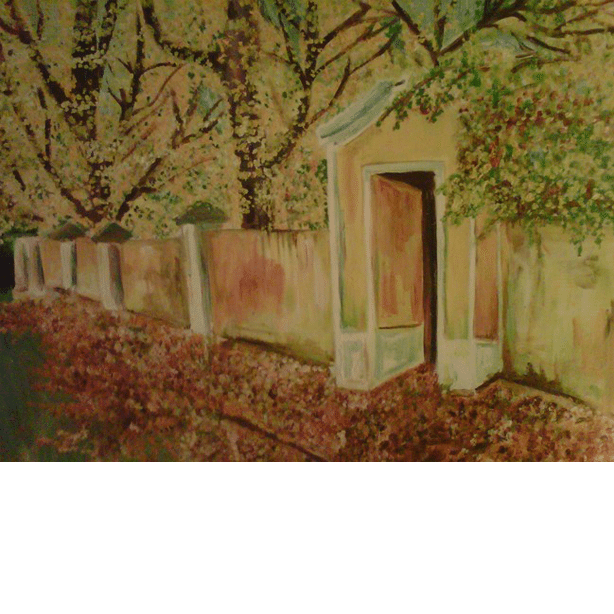 VicToria's Dream Home 2009 painting by Jim Bilgere