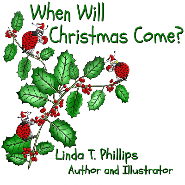 Front cover When Will Christmas Come by Linda T Phillips
