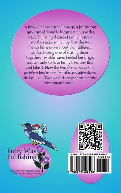 Twinkle of Fairyland Book Two by Kate Wood Freeman print version