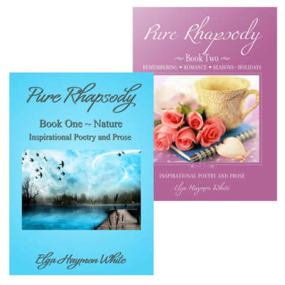 Pure Rhapsody book bundle by Elga Haymon White
